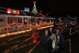 christmas lights in south jersey south jersey family lights up the holiday with award winning