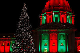 san francisco tree lighting 2017 december 2017 civic center commons