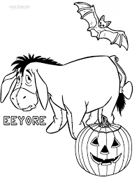 Easy Halloween Drawings For Kids by Printable Eeyore Coloring Pages For Kids Cool2bkids