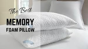 bed pillow reviews best memory foam pillow reviews sidesleeperreviews