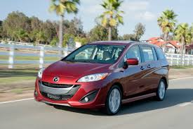 mazda business mazda5 review the smallest of vans stands alone wired