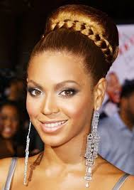 big bun hair beyonce high tight bun hairstyle with braidsblack hair style