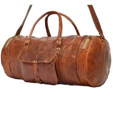 leather travel bags images Vintage leather travel bag for men and for women jpg
