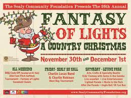 fantasy of lights 5k fantasy of lights the sealy community foundation