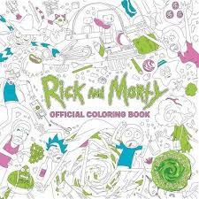 amazon rick morty official coloring book 9781785655623