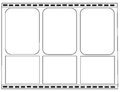 a variety of printable comic strip templates for the love of