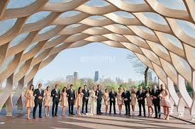 wedding arches chicago wedding photo the honeycomb in lincoln park in