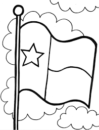 Texas Flag Pledge Texas Flag Coloring Page Murderthestout Remarkable Color