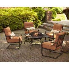 Ace Hardware Fire Pit by Hampton Bay Fire Pit Sets Outdoor Lounge Furniture The Home