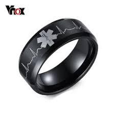 bluelans wedding band ring stainless steel matte ring mẫu nhẫn cưới vàng trắng mới nhất 2017 nhẫn cưới đẹp
