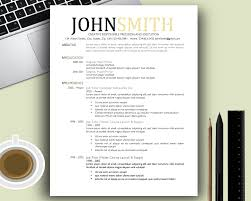 Modern Resume Templates Free Enchanting Creative Resume Template Cv Cover Letter 1 2 3 Page