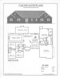 single story house plans with bonus room calvin jayne plans single story 2360 3885 sq ft