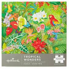 thanksgiving jigsaw puzzle tropical wonders jungle rainforest 1000 piece jigsaw puzzle