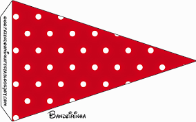 red black and white polka dots free party printables is it
