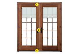 Brown Patio Doors Window And Patio Door Hardware Pella