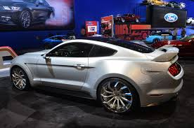 widebody muscle cars is this the first ever wide body 2015 mustang amcarguide com