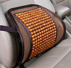 Ventilated Car Seats Wood Bead Seat Cover Velcromag