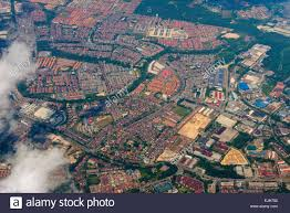 Map Of Jakarta Aerial View Of Landscape Jakarta Indonesia Stock Photo Royalty