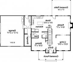house floor plan with measurements interior design