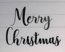 merry christmas sign merry christmas sign etsy