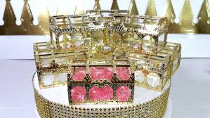 royal princess baby shower theme 12 new gold treasure chest favors princess or