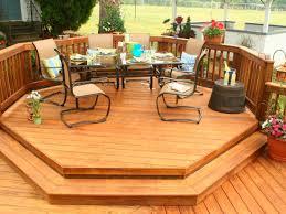 Covered Backyard Patio Ideas by Backyard Deck Design Ideas Mypire