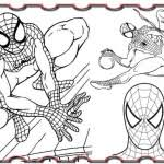 spider man coloring pages featuring peter parker dot peeps
