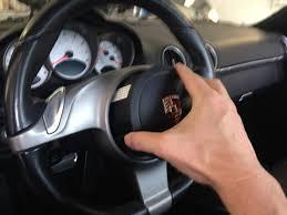 rewire steering wheel pdk buttons 2010 cayman