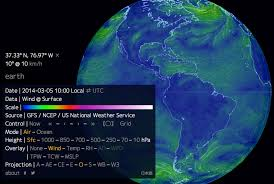 earth wind map infographic putting data visualization inspiration on the map