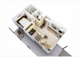 Granny Flat Floor Plans 1 Bedroom 25 Best Garage Granny Flat Ideas On Pinterest Guest Cottage