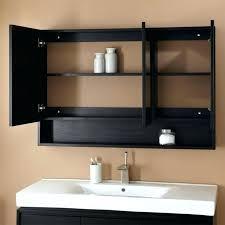black framed recessed medicine cabinet black medicine cabinets s s ed black wood recessed medicine cabinet