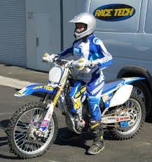 motocross bike makes suspension lowering