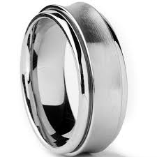 mens comfort fit wedding bands stainless steel men s comfort fit wedding band spinner ring 8mm