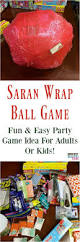ideas for a halloween party games saran wrap ball game fun party game idea for kids or adults fun