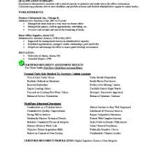 chronological resume sample administrative assistant chronological
