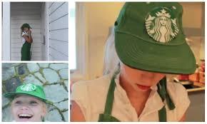 Starbucks Halloween Costume Kids Macerween Diy Starbucks Halloween Costume Diy Starbucks