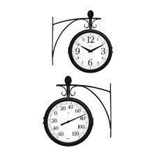wall clocks slate garden indoor outdoor clock outside garden