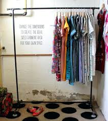 homemade modern homemade modern garment rack retail clothing racks clothes drying