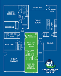 next gen floor plans the granny pod and lennar nextgen homes are they for you