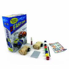 amazon com wooden race car craft kit fast cars custom shop