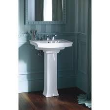 24 inch pedestal sink kohler archer pedestal sink kohler archer pedestal lavatory white 24