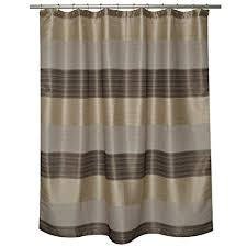 Polyester Shower Curtains Home Fashions Alys 100 Percent Polyester Shower