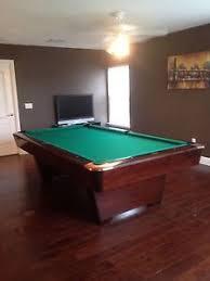 8ft brunswick pool table 8ft brunswick medalist pool table beautiful ebay