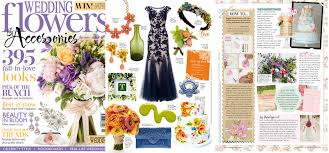 wedding flowers and accessories magazine hip hip hooray wedding stationery in the press