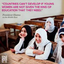 quotes education equality girls education u003d good foreign policy it u0027s basicmath