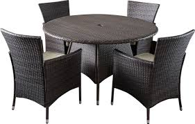 Dining Sets Byrom 5 Piece Dining Set With Cushions U0026 Reviews Allmodern