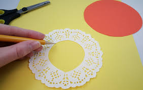doily lion paper craft for kids s u0026s blog