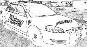 police car drawing coloring page police car drawing coloring page