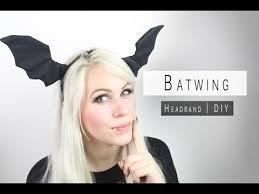 bat headband diy batwing headband darkness