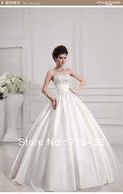 cinderella style wedding dress cinderella gown satin wedding dresses dress images
